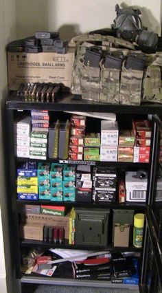 AMMO STOCKPILE - Because those goddamned zombies aren't gonna shoot themselves ;-)