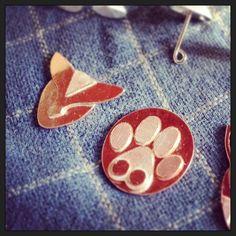 #paws #cats #robots #robocats #comic #cartoon #inspired #texture #jewellery #fashion #cast #master