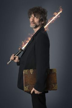 I have borrowed Aziraphale's flaming sword to let you know that Good Omens starts on Dec 22nd on BBC Radio 4. Look!