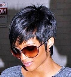 Hair Beauty - In this article, we present some of the lovely and alluring pixie hairstyles for you to look at and appreciate. Short Pixie Hairstyles f Popular Short Hairstyles, Short Pixie Haircuts, Pixie Hairstyles, Trendy Hairstyles, 2014 Hairstyles, Undercut Hairstyles, Ciara Short Hair, Short Hair Cuts, Hair Styles 2014