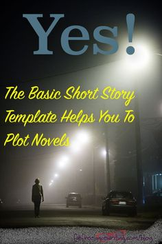 Our basic short story template is very popular, because it's endlessly adaptable to any genre. Question: will it help you to plot novels too?