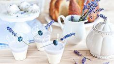 Časlevandule: Udělejte zníkrásné dekorace ilimonády - Proženy Sugar Bowl, Bowl Set, Glass Of Milk, Panna Cotta, Drinks, Food, Drinking, Dulce De Leche, Beverages