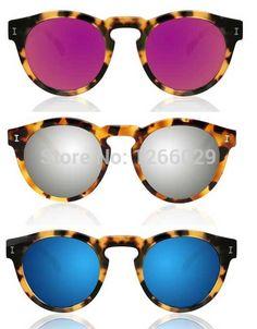 2015 Brazil illesteva sunglasses women brand designer vintage sun glasses  mirror eyewear retro women oculos de 6a626de126
