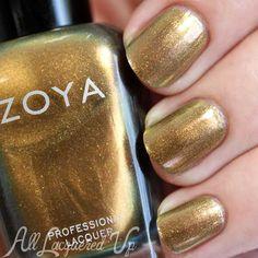 Zoya Aggie swatch - Flair Fall 2015