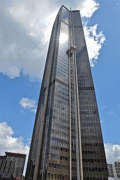 Montparnasse Tower in Paris. The perfect way to get a view of Paris with the Eiffel Tower actual in it - from the top of this building!