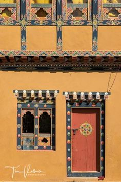 #door and #windows in #Bhutan