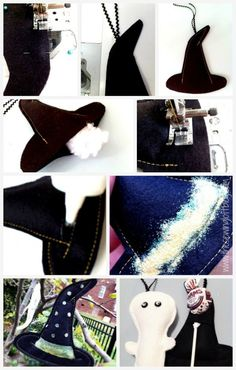 Witch Hat Treat -The Sewing Loft