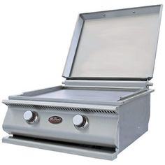 Built in Hibachi Grill. I need one of these built in my kitchen! Could seriously save some money.
