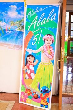 Lilo and Stitch Luau Party Birthday Party Ideas | Photo 18 of 28 | Catch My Party