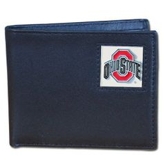 NCAA Ohio State Buckeyes Leather Bi-fold Wallet by Siskiyou. $19.99. NCAA Ohio St. Buckeyes Leather Bi-fold Wallet