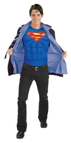 Clark Kent Superman Costume http://creative-halloween-costumes.happy-holidays.net/couples-halloween-costumes/superman-costume-ideas