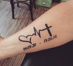 Personable Tattoo For Dead Brother 2019 Back To Tattoo For Dead BrotherOptimal Tattoo For Dead Brother Tattoos In Memory Of Your Dog Memorial Tattoo Ideas,… Oma Tattoos, Tattoo Oma, Daddy Tattoos, Father Tattoos, Family Tattoos, Cute Tattoos, Back Tattoo, Rip Tattoos For Mom, Hp Tattoo