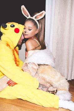 Ariana Grande and Mac Miller's Halloween Couple Costumes Are Total Relationship Goals   Teen Vogue