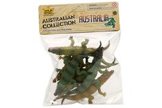 Wild Republic Australian Crocodiles - Learn about Australian waterways and what lurks beneath the murky water.    Extend the learning and play by setting up your own crocodile habitat and discuss facts about crocodiles in Australia.  Ages 4+