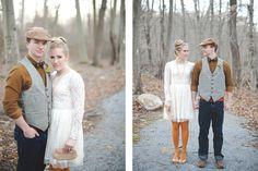 Vintage Woods Autumn Style Shoot
