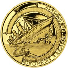 TITANIK - 100. VÝROČÍ POTOPENÍ AU Titanic, Coins, Personalized Items, Stamps, Coining, Rooms
