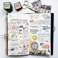 """My first attempt using the Weekly + Memo Diary. I really like this format…"