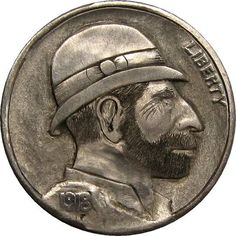 James Stewart Hobo Nickel, Thomas Jefferson, Buffalo, Classic Style, Coins, Carving, Rooms, Wood Carvings, Sculptures
