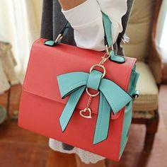Cute Bow Charmed Tote Bag