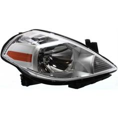 Front Headlight Headlamp Passenger Side Right Hand RH for 07-12 Nissan Versa #BrandNewAftermarkerReplacement