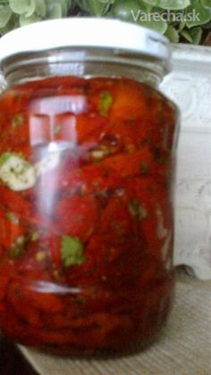 Syrup, Salsa, Herbalism, Food And Drink, Pizza, Canning, Red Peppers, Herbal Medicine, Salsa Music
