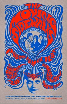 '60s Houston psychedelia:  Billy Gibbons and the Moving Sidewalks, reunited in 2013