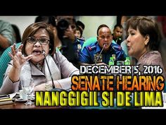 NANGGIGIL!Leila Delima kay Gen.Dela Rosa at Sandra Cam sa Senate Hearing - WATCH VIDEO HERE -> http://dutertenewstoday.com/nanggigilleila-delima-kay-gen-dela-rosa-at-sandra-cam-sa-senate-hearing/   Watch the latest Related Videos HERE: LIKE, SHARE, REACT and Post your COMMENT Dont Forget to Subscribe: Like Us On...