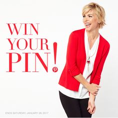 It's GIVEAWAY time! WIN YOUR PIN! It's easy as...  (1) Follow Cleo on Pinterest  (2) Pin 3 looks from the Style in a Snap board  (3) Enter on Facebook for your chance to win a $200 Cleo gift card to put towards your Style in a Snap pins or other new looks you love!  Good luck!  ENDS SAT, JAN 28, 2017 It's Easy, New Look, Giveaway, Your Style, Hairstyle, Facebook, Board, Gift, Clothing