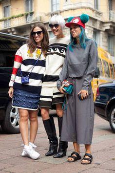 Der Fashion Week Monat September ist fast vorbei, in Paris finden in diesen Tagen die letzten Schauen statt. Wir zeigen die schönsten Streetstyles und Inspirationen von den Straßen von Paris, Mailand, New York und London.