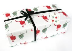 Xmas Reindeer Wrapping Paper £2.00