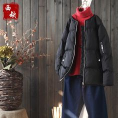 (74.69$)  Know more - http://ai9c9.worlditems.win/all/product.php?id=32799009310 - 2017 new mori girl Loose short design thickening bread cotton-padded jacket female winter outerwear down cotton wadded jacket