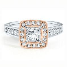 1/2 ct. tw. Diamond Semi-Mount Engagement Ring in 14K Gold