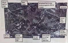 Birkenhead Park, wartime.