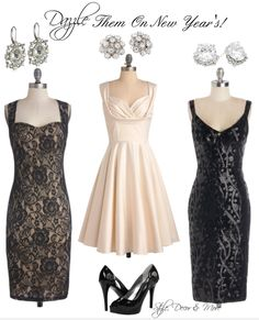 Dazzling New Year's Eve Dresses!  http://www.styledecordeals.com/2013/12/dazzling-new-years-eve-dresses.html