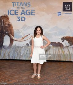Rebecca Bloom attends the Titans of the Ice Age Premiere at La Brea Tar Pits and Museum on June 20, 2015 in Los Angeles, California.