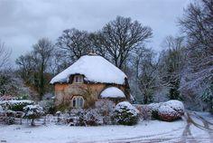 "pagewoman: "" Gaunts House Gatehouse, Dorset, England by Graham Hobbs """