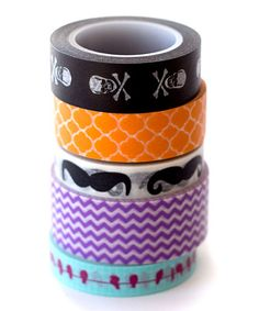 Look what I found on #zulily! Trending Washi Tape - Set of Five #zulilyfinds