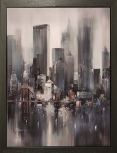 New York Heights - Hand Embellished - Breeze