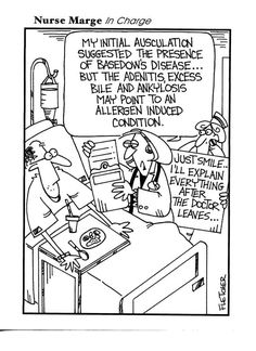 Cute joke... Super true! Always ask if the patient needs translation after the doctor or dentist leaves.     Dentists need to learn to speak in lay man's terms!
