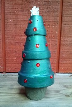 Terra Cotta Christmas Tree!