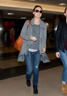 Olivia Wilde at the Airport in LA