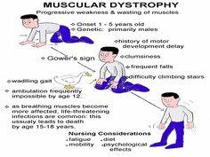 Muscular Dystrophy Symptoms (Duchenne's)