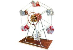 Vintage Ferris Wheel from R. Higgins Interiors, a one-of-a-kind piece