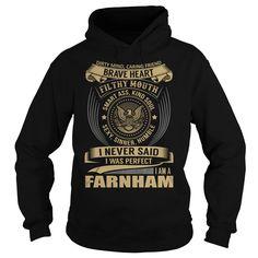 FARNHAM Last Name, Surname T-Shirt