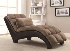 Jazz up your living room with the Ziv Chaise by Coaster Company Of America. Best prices in Chaise Lounge Chairs anywhere - anytime! Lounge Sofa, Chaise Sofa, Sofa Set, Armchair, Home Furniture, Furniture Design, Living Room Furniture, Furniture Chairs, Sofa Design
