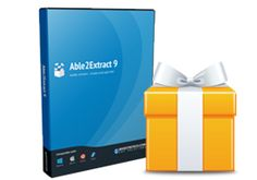 WinXDVD 10 license giveaway--Able2Extract PDF Converter 9 | Jan. 4, 2015