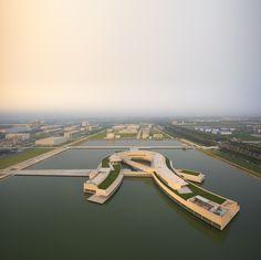 Galeria - Primeiro projeto de Álvaro Siza e Carlos Castanheira na China por Fernando Guerra - 01