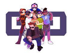 Arnold And Helga, Mini Ladd, H20 Delirious, Bbs Squad, Vanoss Crew, Banana Bus Squad, Youtube Gamer, Markiplier, Best Youtubers