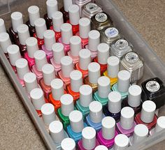 8 Nail Polish Organizer Ideas You'll Want to Copy Immediately | Daily Makeover
