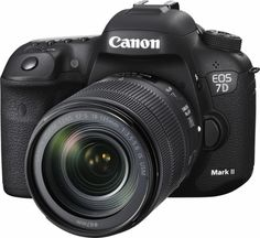 Canon - EOS 7D Mark II DSLR Camera with EF-S 18-135mm IS USM Lens Wi-Fi Adapter Kit - Left Zoom